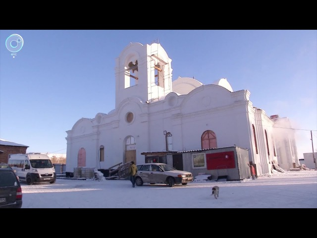 В посёлке Колывань восстанавливают собор во имя Святой Троицы