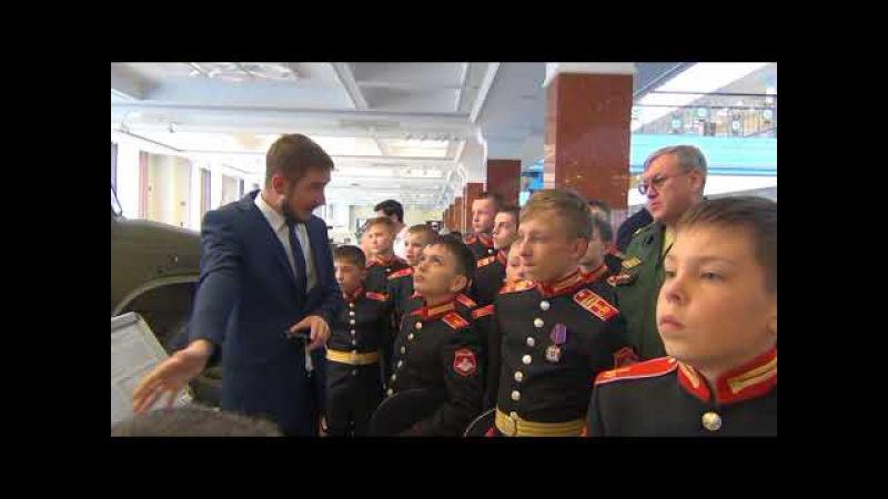 Поездка суворовцев на танковый биатлон в Пышму