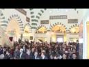 Президент Эрдоган читает в мечети Кур'ан