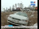Аварии из-за снегопада происходят на пригородных трассах и в Иркутске