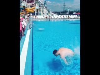 Отдых в аквапарке Лебяжий (видео @vladbadulin)
