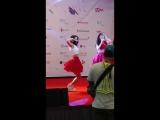 Fancam  170820  OH MY GIRL (Binnie)  KCON 2017 LA Hi-Touch Event