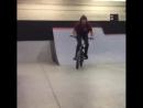 Dylan BMX Wall ride trick