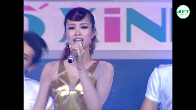 Dong Nhi Khong Tu Quynh bernyanyi hidup di malam hari Jika hari Anda datang