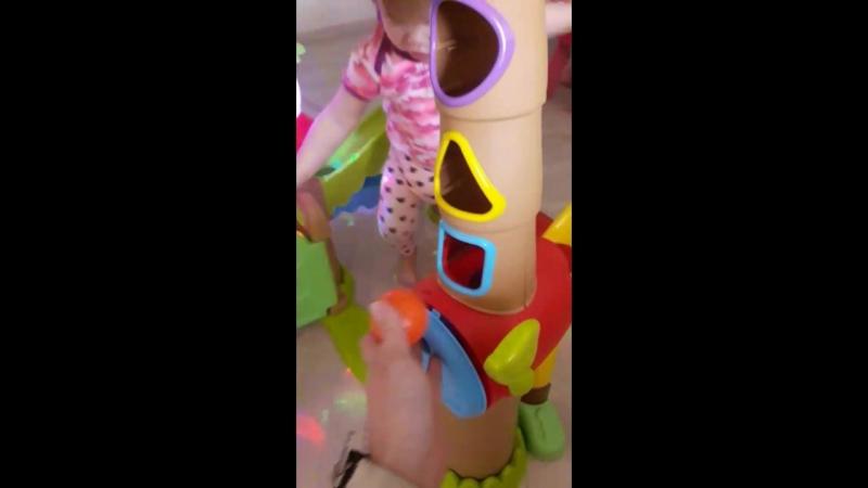 Игровой музыкальный центр-домик Хижина прокат игрушек КАРАПУЗиК г Казань