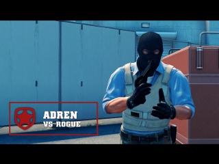 Gambit AdreN ACE vs Rogue @ ECS Season 3 Development League