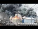 Большой пожар в Мурине 09 11 2017 2