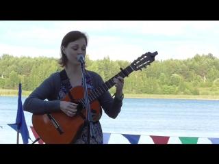Посвящение Бакинскому фестивалю - исп. Ирина Клейман (автор песни Елена Гурфинкель)