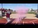 How the Mississippi state baseball coach found out the gender of his baby!