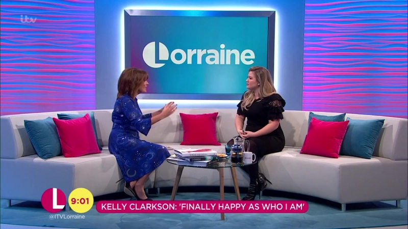 Kelly Clarkson Talks Family and 15 Years in The Music Industry ¦ Lorraine