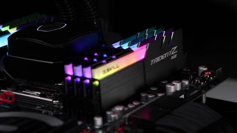 G Skill Trident Z RGB - Лучшая оперативка с ргб подсветкой