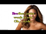 Work It Out - Beyonce Knowles - Karaoke Lyrics