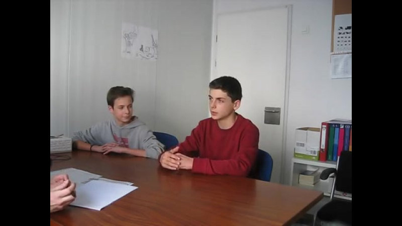 KET SPEAKING EXAM - PART ONE - Roger and Marc