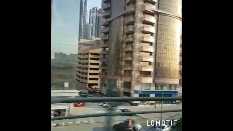 Зима Дубай ОАЕ 2017