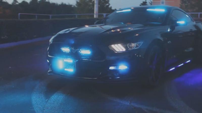 """""""The HG2 Dark Avenger"""" 2016 Ford Mustang GT Police Lighting Package"""