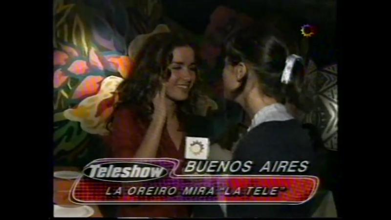 Natalia Oreiro en Teleshow 06 12 1997