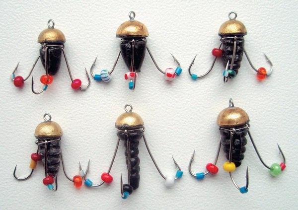 техника ловли на медузу