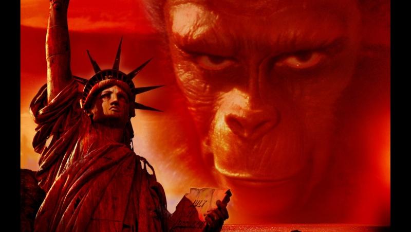 ☠ Планета обезьян / Planet of the Apes (1968) 720HD