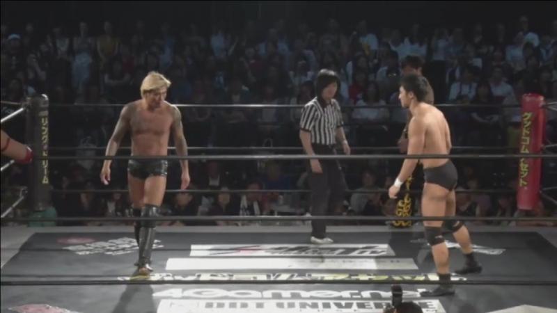 KUDO, Masahiro Takanashi, Yukio Sakaguchi vs. Kouki Iwasaki, Soma Takao, Yuki Ueno (DDT - BGF 2017 ~ DDT Day ~)