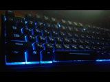 Бюджетная игровая клавиатура Smartbuy RUSH 601 USB