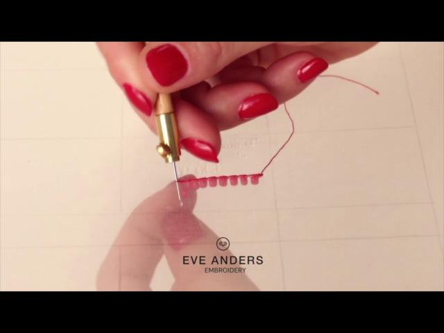 Люневильский крючок - вышивка бисером