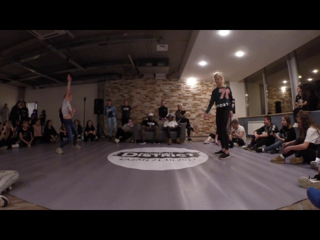 DANCEHALL DISTRICT | 1X1 BEG | TALMIRA WIN VS AZALIYA | MOTIVATIKA
