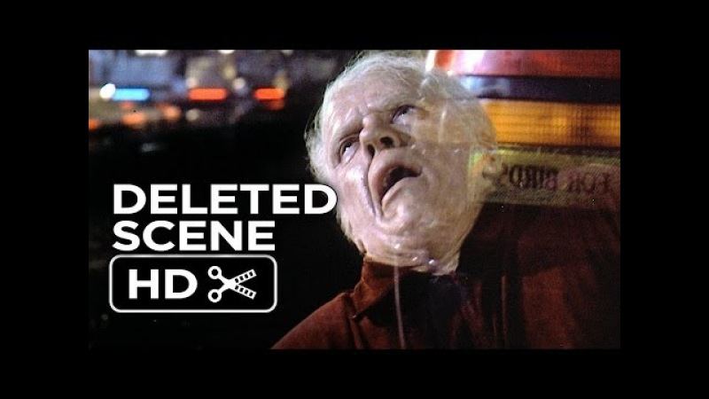Back To The Future Part II Deleted Scene Old Biff Vanishes 1989 Movie HD