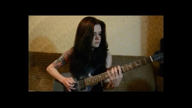 Nile - Iskander d'hul karnon (guitar cover)