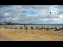 Кайтсерфинг, Кан Пастилья, Майорка / Kitesurfing, Can Pastilla, Mallorca