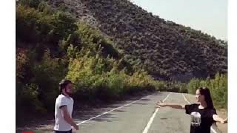 Самед танцует с женой , новая чеченская лезгинка 🥇2017 🥇