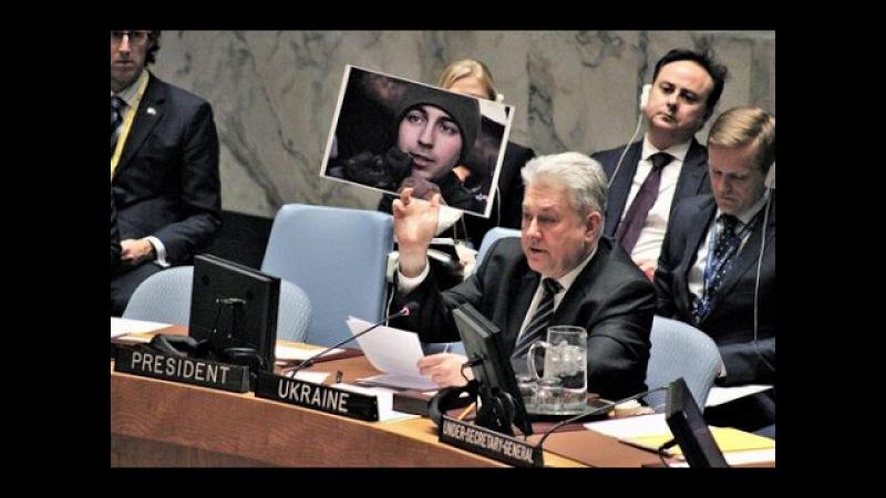 Посмотрите в его глаза!: Фото убитого украинского солдата показал Ельченко на Со...