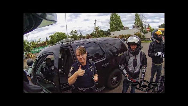 Не Все Полицейские = Мусора. Пример общения настоящих полицейских. (РУССКИЕ СУБТ ...