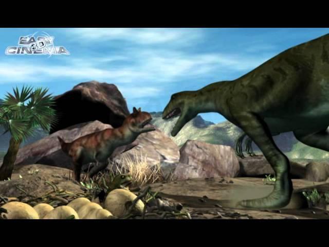 Films from DinoPark - Giganotosaurus