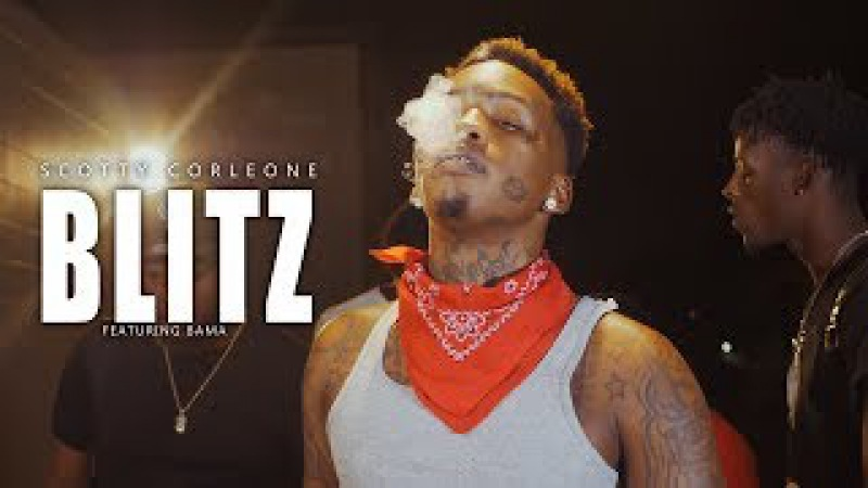 Scotty Corleone - Blitz Feat. Bama | Official Music Video | aka Scotty Cain | TWONESHOTTHAT™