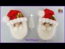 Tutorial amigurumi Broche Papá Noel Santa Claus