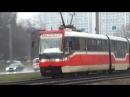 Трамвай Tatra KT3R.