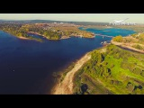 Самара с высоты птичьего полета. Река Сок, октябрь 2017