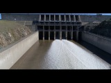New Drone Video of Spillway Reopening | Lake Oroville Dam Updates 3-18-17