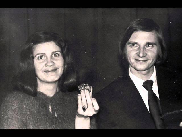 Нора Бумбиере и Виктор Лапченок Желтый лист