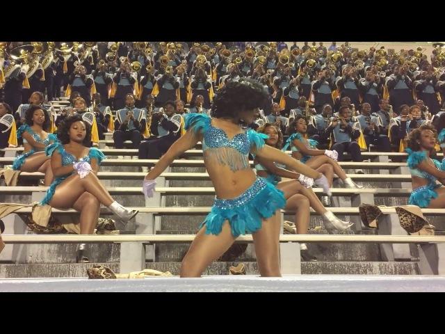 Where I Wanna Be - Southern University Band Dancing Dolls (2014)   SU vs TxSU