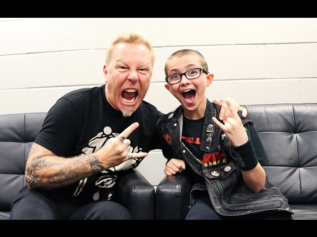 JAMES HETFIELD of METALLICA talks being nervous, farts, family, missing Cliff Burton