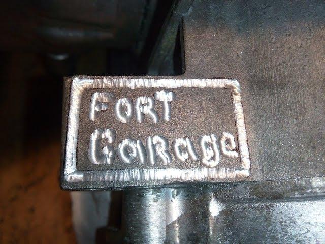 Fort Garage и валющая Drag Honda от Ромарио