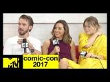 'Legion' Cast Dan Stevens, Aubrey Plaza &amp Rachel Keller Talk Season 2  Comic-Con 2017  MTV