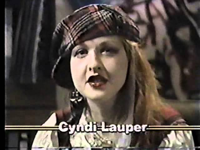 Nina Blackwood VJ February 25th 1984 Bob Geldolf Cyndi Lauper George Harrison Duran Duran