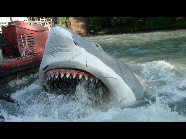 Last Ride Ever on Jaws at Universal Studios Orlando For TPR