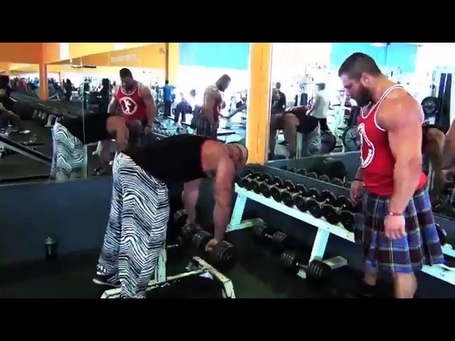 ANTOINE VAILLANT CED MIKE JOHNSON DELTOID AND TRAPS SMASHING TIME spring 2013