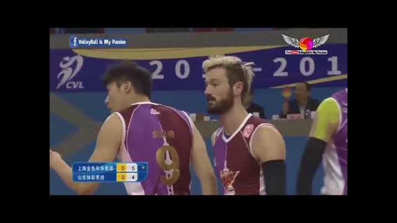 Shanghai (上海) vs Shandong (山东) | 03-12-2017 | Chinese Men's volleyball super league 2017/2018
