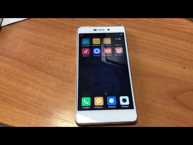 Разблокировка Mi аккаунт Xiaomi Redmi 3S / Unlock Mi account Xiaomi Redmi 3S