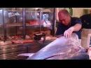 Skil Tingkat Dewa Cara Memotong Ikan Tuna