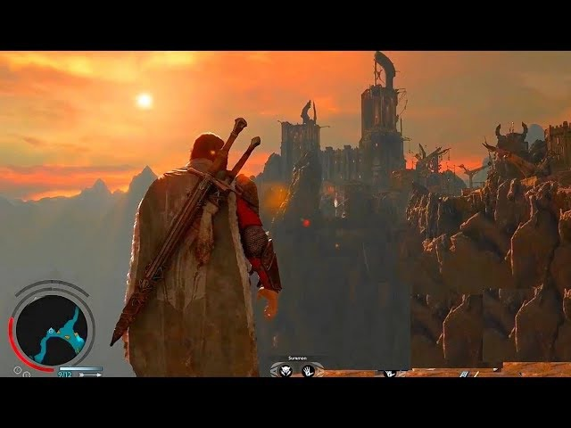 SHADOW OF WAR Open World Exploration Gameplay New Cirith Ungol Region First Look